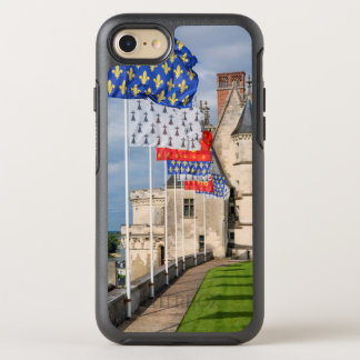 Chateau d'Amboise and flag, France OtterBox Symmetry iPhone 8/7 Case