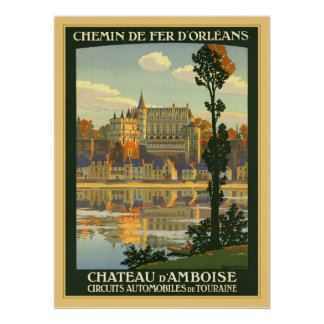 Chateau d'Amboise Poster