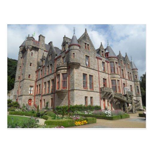 Château de Belfast, Irlande du Nord Carte Postale