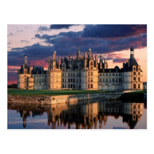 chateau de chambord Castle,Loire Valley, France Postcard