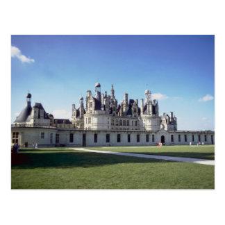 Chateau de Chambord, Loire, France Postcard