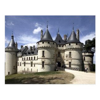 Chateau de Chaumont-Sur-Loire. Postcard