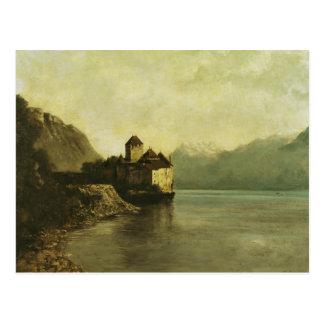Chateau de Chillon, 1874 Postcard