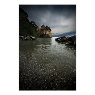 Chateau de Chillon Poster