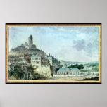 Chateau de La Roche-Guyon Poster