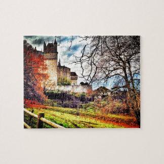 Château de Menthon Saint Bernard - Haute-Savoie Jigsaw Puzzle