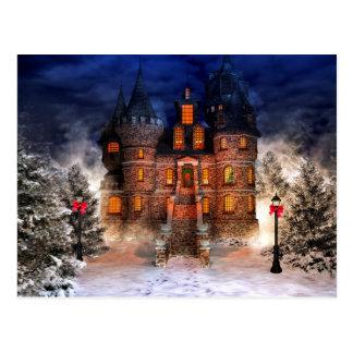 Château de Noël Carte Postale