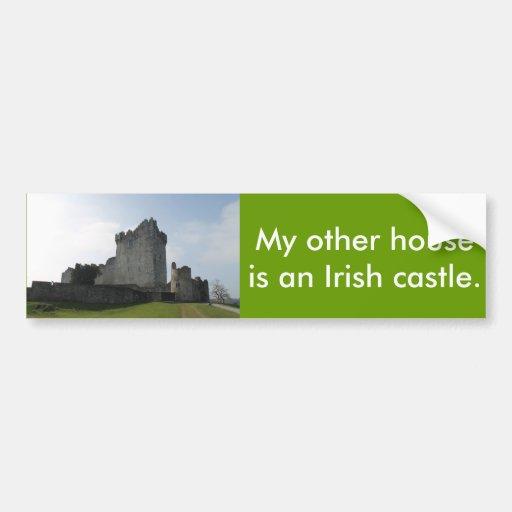 Château de Ross, Killarney, Irlande Adhésif Pour Voiture