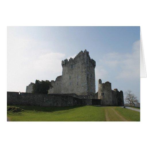 Château de Ross, Killarney, Irlande Carte De Vœux