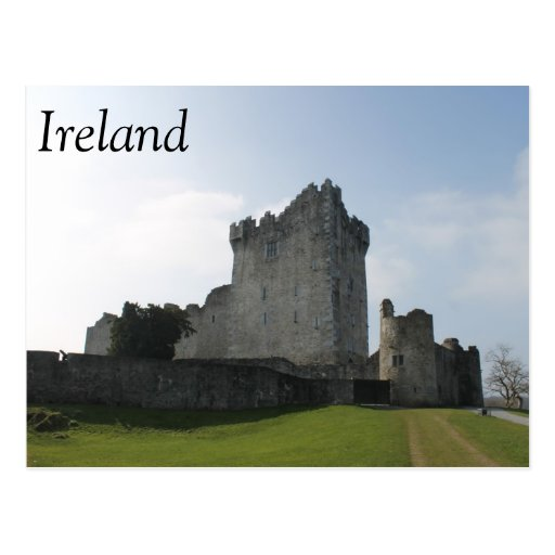 Château de Ross, Killarney, Irlande Cartes Postales