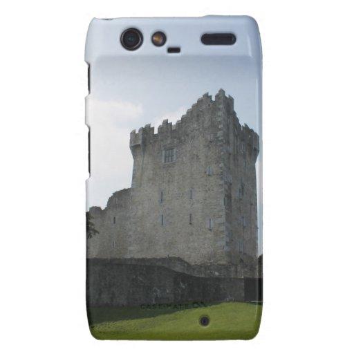 Château de Ross, Killarney, Irlande Coque Motorola Droid RAZR