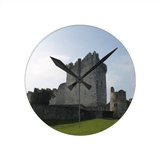 Château de Ross, Killarney, Irlande Pendule