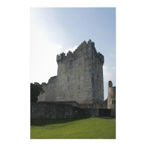 Château de Ross, Killarney, Irlande Papier À Lettre Personnalisé