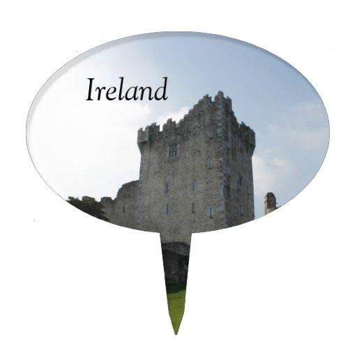 Château de Ross, Killarney, Irlande Pique À Gâteau