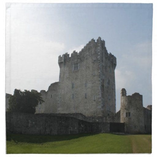 Château de Ross, Killarney, Irlande Serviettes