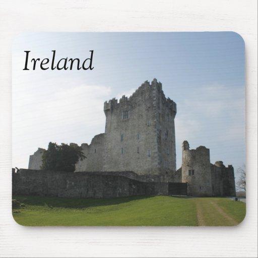 Château de Ross, Killarney, Irlande Tapis De Souris