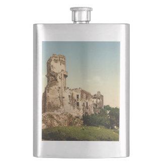 Chateau de Tournoel, Clermont-Ferrand, France Hip Flask