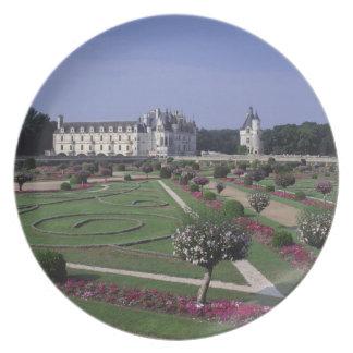 Chateau du Chenonceau, Loire Valley, Plate