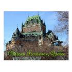 Château Frontenac, Québec, Canada Postcard