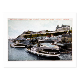 Chateau Frotenac, Quebec, Canada Postcard