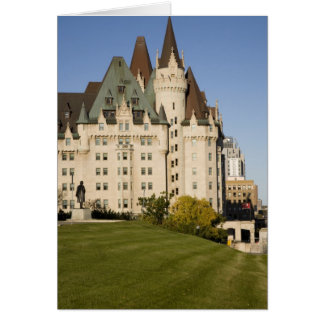 Chateau Laurier Hotel in Ottawa, Ontario, Canada Card