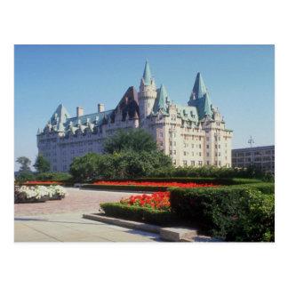 Chateau Laurier, Ottawa, Ontario, Canada Postcard