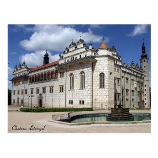 Chateau Litomysl Postcard