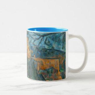 Chateau Noir, 1900-04 (oil on canvas) Two-Tone Coffee Mug