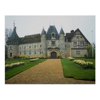 Chateau St. Germain, De-Levit, France Postcard