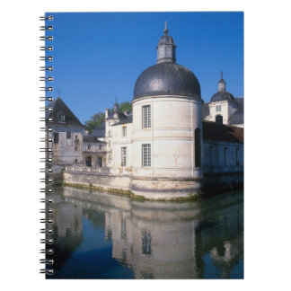 Chateau Tanlay, Tanlay, Burgundy, France Spiral Note Book