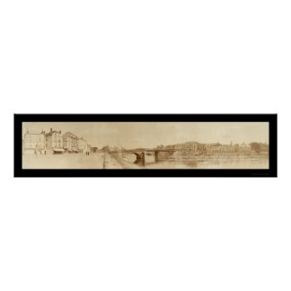 Chateau Thierry Marine Photo 1918 Poster