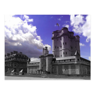 Chateau Vincennes, Paris Postcard