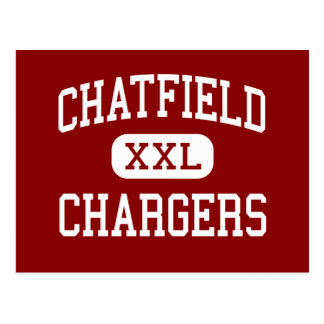 Chatfield - Chargers - Senior - Littleton Colorado Postcard