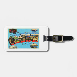 Chatham Cape Cod Massachusetts MA Travel Souvenir Bag Tag
