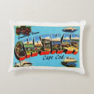 Chatham Cape Cod Massachusetts MA Travel Souvenir Decorative Pillow