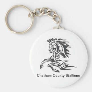 Chatham County Stallions Key Chain