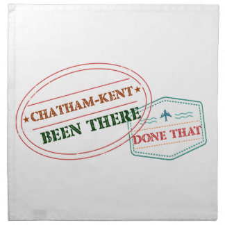 Chatham-Kent Been there done that Napkin