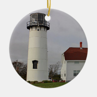 Chatham Light Ceramic Ornament