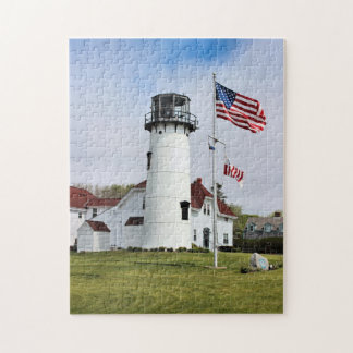 Chatham Lighthouse, Cape Cod MA Jigsaw Puzzle