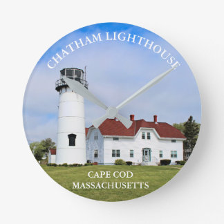 Chatham Lighthouse, Cape Cod Massachusetts Clock