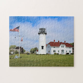 Chatham Lighthouse, Cape Cod Massachusetts Jigsaw Puzzle