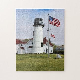 Chatham Lighthouse, Cape Cod Massachusetts Puzzle