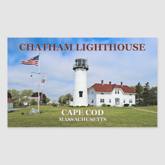 Chatham Lighthouse, Cape Cod Massachusetts Sticker