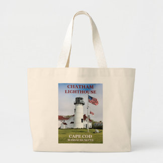 Chatham Lighthouse Cape Cod Massachusetts Tote Bag