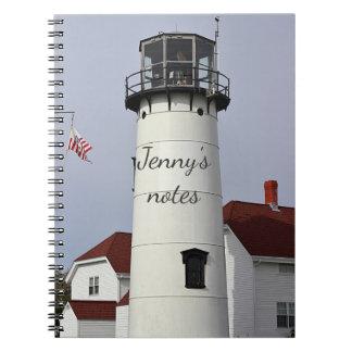 Chatham Lighthouse Spiral Notebook