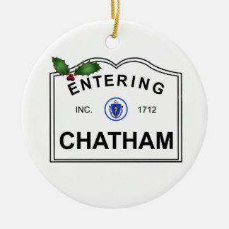 Chatham MA Ceramic Ornament