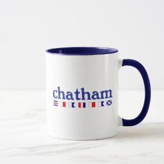 Chatham, MA - Maritme Spelling Mug