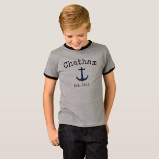 Chatham Massachusetts grey shirt for boys