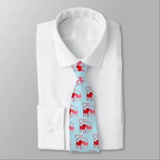 Chats de Valentine - cravate de Valentine
