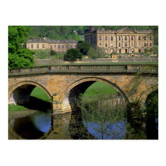 Chatsworth House, Derbyshire, U.K. Postcard